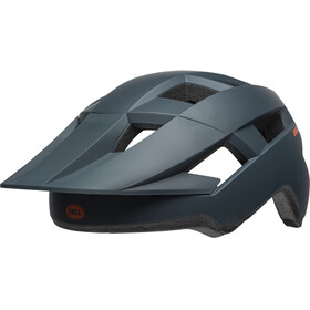 Bell Spark Casque, matte slate/orange